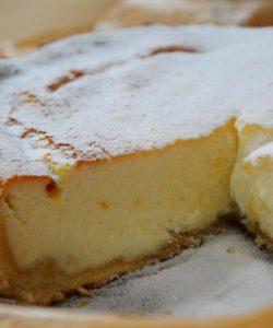 Pască umplută cu brânză
