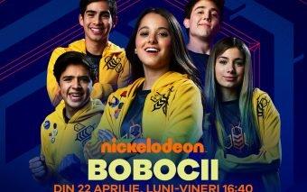 Bobocii - primul serial despre gaming, din 24 aprilie, pe Nickelodeon