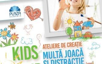 Micuții creativi se pregătesc de Paște la Kids Club din Plaza România