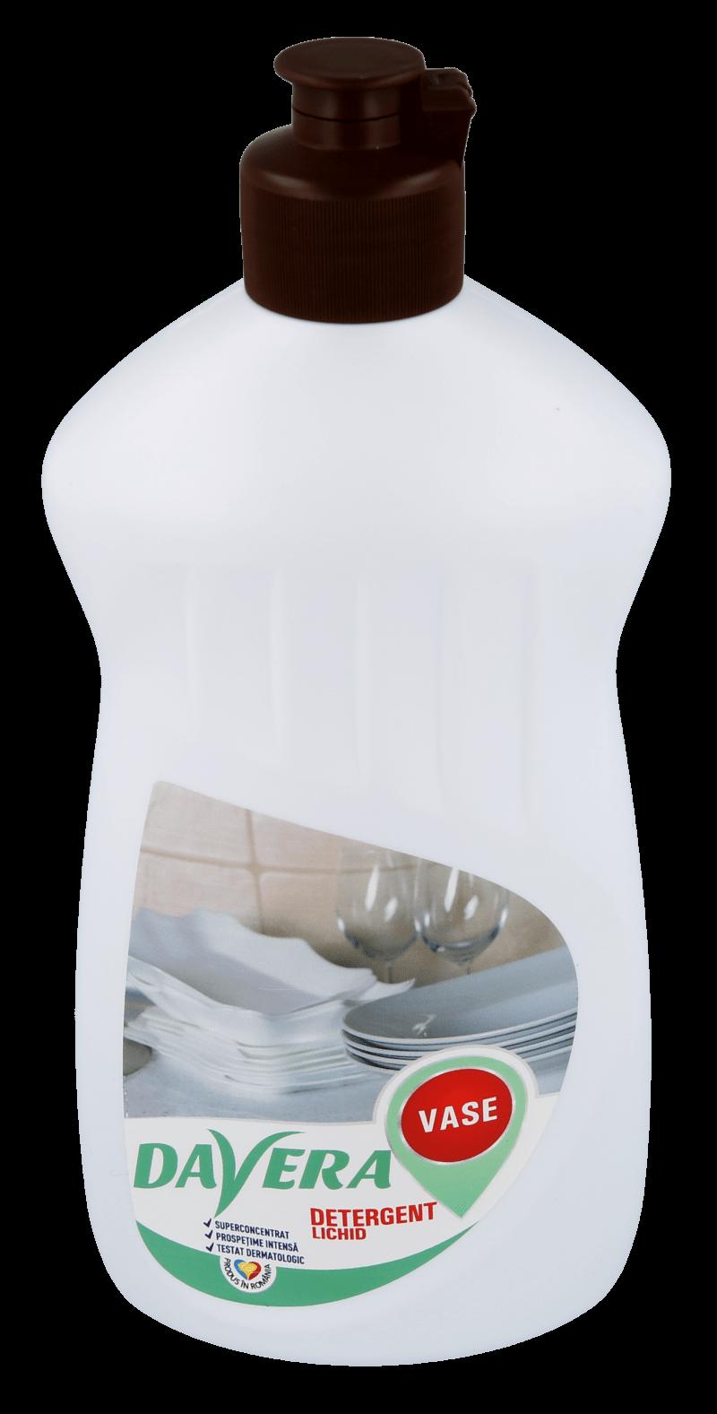 Vase mai curate cu detergenții de vase Klintensiv Davera