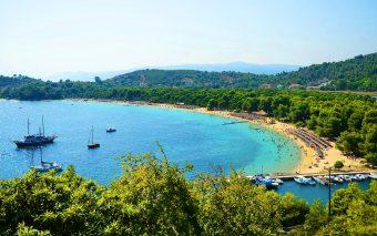 Insula Skiathos - un paradis pentru familiile cu copii