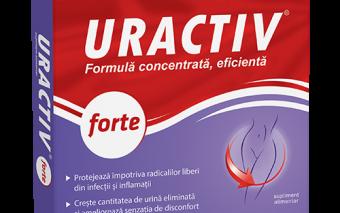Fii tu însăți: mai activă, mai rapidă, mai puternică, cu Uractiv Forte