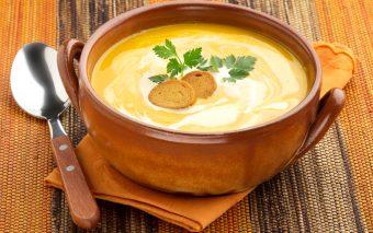 Supă-cremă de cartofi dulci. O aromă de ținut minte