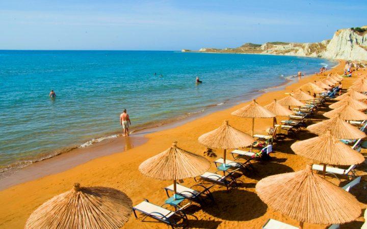 Plaja Xi, Kefalonia