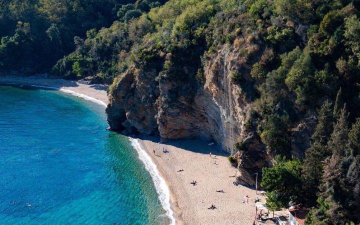 Plaja Mogren, Muntenegru