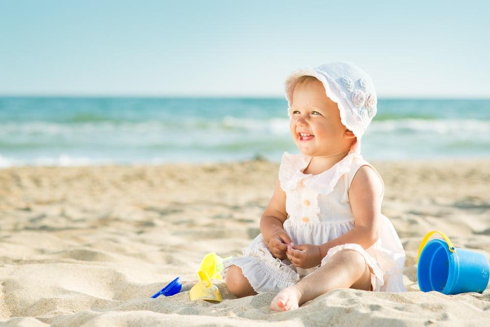Prima vacanță la mare cu bebe, o adevărată provocare