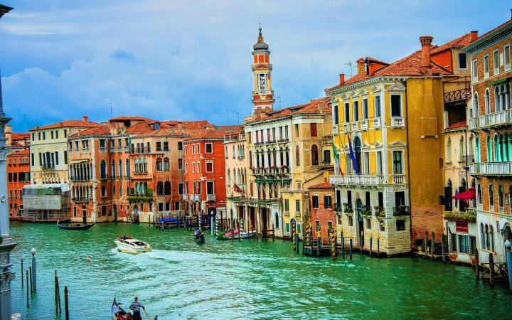 Veneția - la plimbare cu gondola