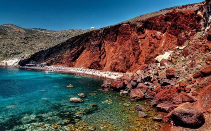Plaja Roșie - Santorini