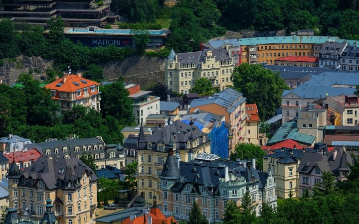 Spa-urile din Karlovy Vary - Cehia