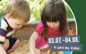 Locuri de joacă pentru copii–tema lunii iulie la HORNBACH