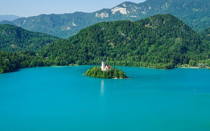 Orașe de pe lacuri: Bled