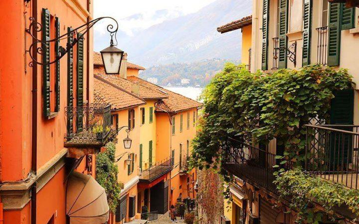 Orașe de pe lacuri: Bellagio