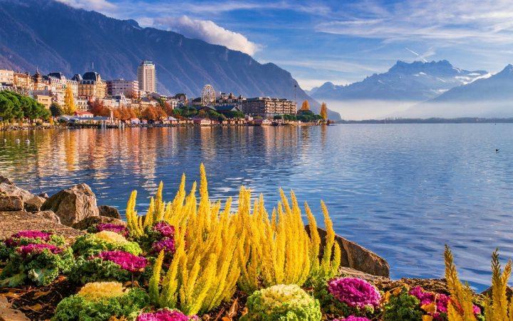 Orașe de pe lacuri: Montreux