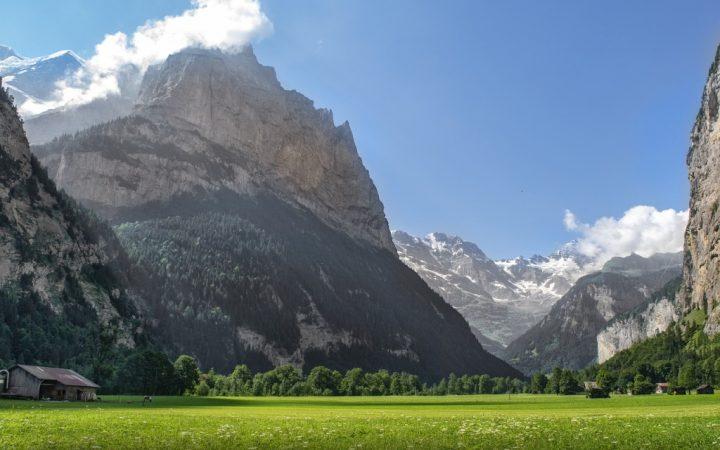Parcul Național Valea Lauterbrunnen, Elveția