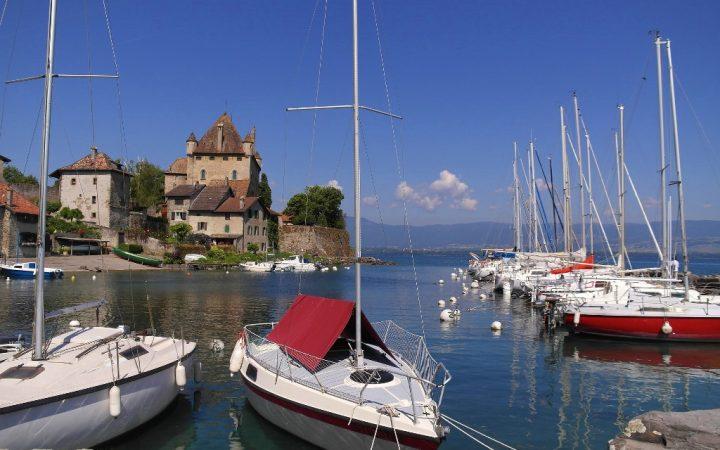 Orașe de pe lacuri: Yvoire