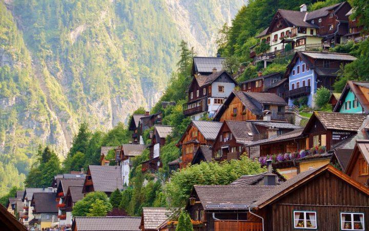Orașe de pe lacuri: Hallstatt
