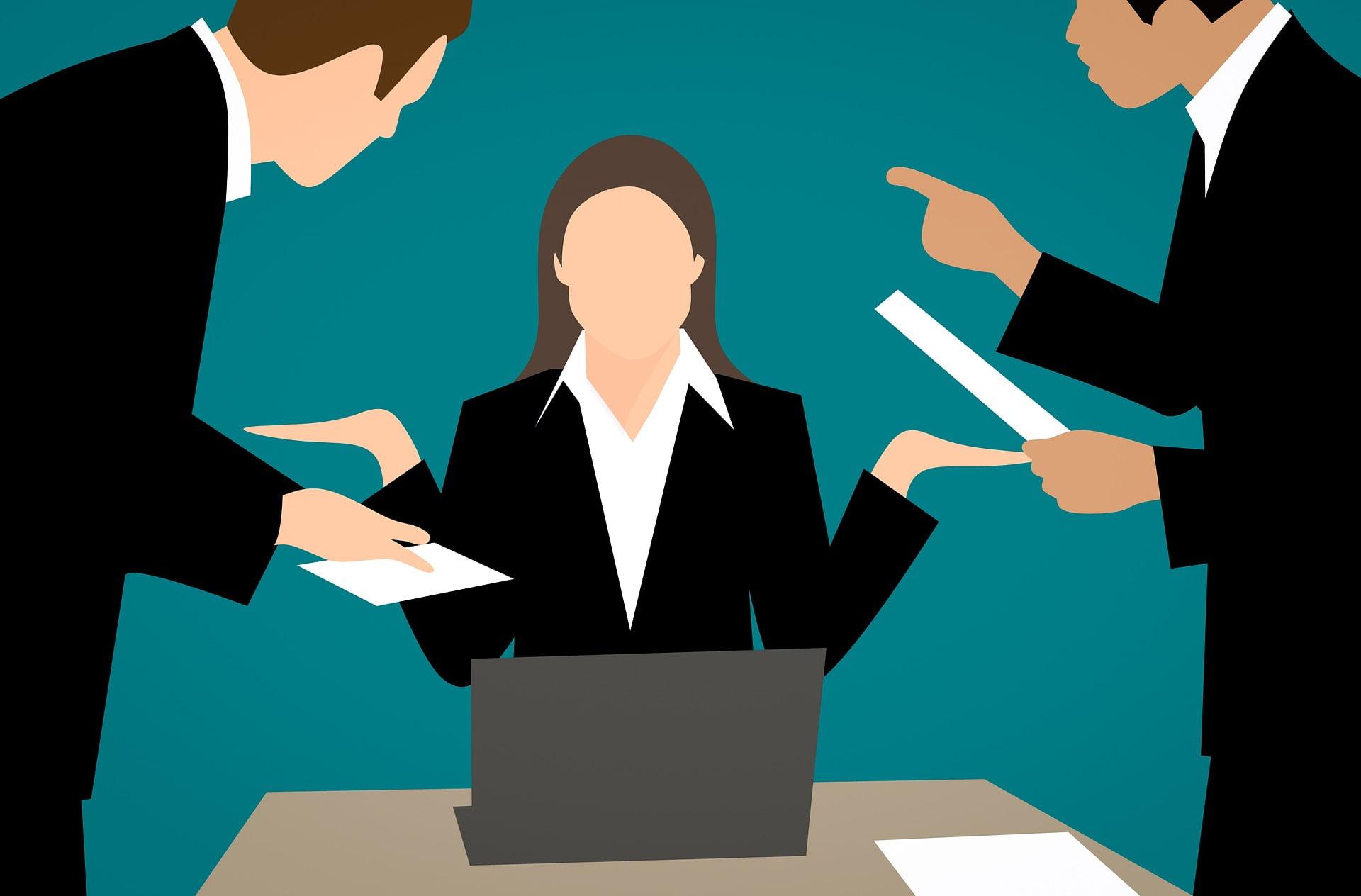 Adulții se confruntă cel mai frecvent cu abuzul emoțional la serviciu.