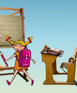 Trecerea de la grădiniță la școală este o etapă importantă și pentru copil și pentru părinte