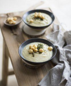 Supă-cremă de conopidă. De sezon, de gust și poftă