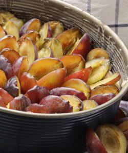 Tort cu prune. Rapid, cu puține ingrediente