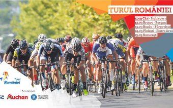 16 echipe de cicliști din 11 țări ajung duminică la București, în ultima etapă a Turului României