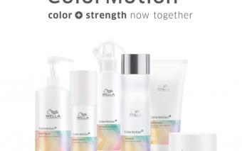 Color Motion⁺, Culoare + rezistență, acum împreună!