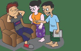 Expresii folosite de părinți care le dăunează copiilor
