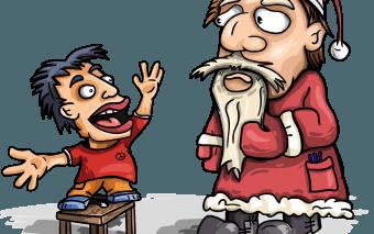 Când îi spui copilului adevărul despre Moș Crăciun