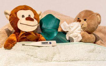 Febra la copii, un semnal de alarmă