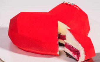 Tort Valentin pentru îndrăgostiți
