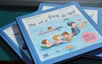 Nu mi-e frică de apă! – prima carte cu și pentru copii, dedicată educației acvatice