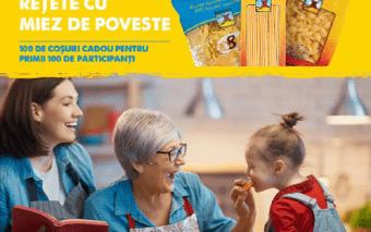 Concurs: Rețete cu miez de poveste. Redescoperim gusturile copilăriei cu pastele Băneasa!