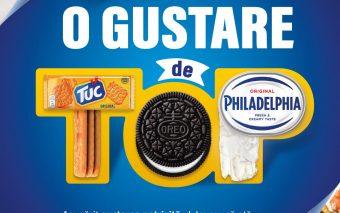 Biscuiții TUC și OREO și crema de brânză PHILADELPHIA - mixul ideal pentru o gustare perfectă