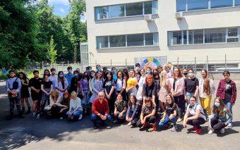 """Proiectul CSR având ca temăbucuria de a trăia premiat tinerii artiști ai Liceului de Arte Plastice ,,Nicolae Tonitza"""""""