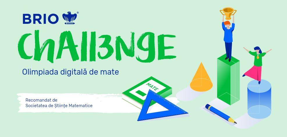 Brio anunță startul înscrierilor la cea de-a treia ediție a olimpiadei digitale de matematică Brio Challenge