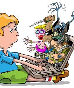 8 reguli de bază pentru protejarea copiilor mici în online